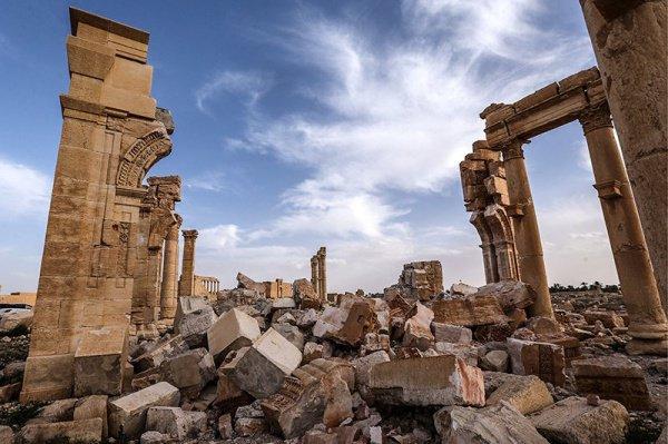 Восстановление древнего города займет не менее пяти лет.