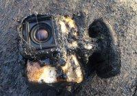 Камера GoPro уцелела после купания в лаве (ВИДЕО)