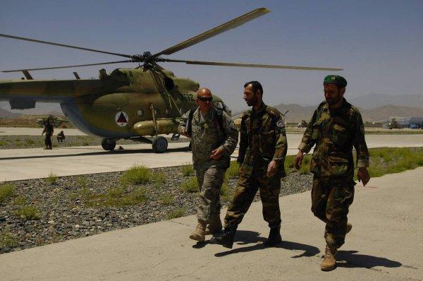 В Афганистане, помимо прочих, использовались и вертолеты, произведенные в Казани.