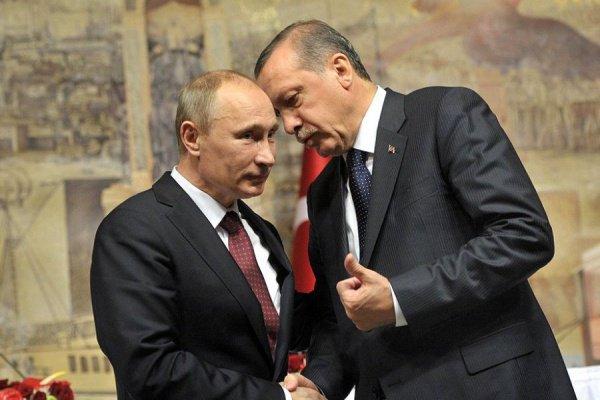 Встреча Путина и Эрдогана состоится в Сочи.