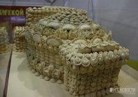 Макет театра из пельменей показали в Сибири