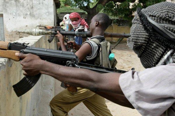 В Сомали растет число исламистских боевиков.