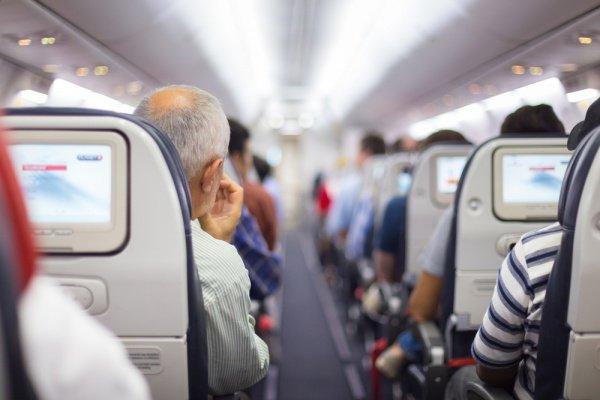 На борту турецкого самолета возникли беспорядки.
