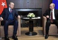 Эрдоган поддержал заявление России и США по Сирии
