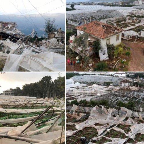 Мощный смерч нанес серьезный ущерб провинции.