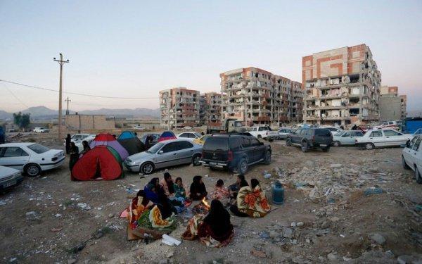 Мощное землетрясение в Иране.