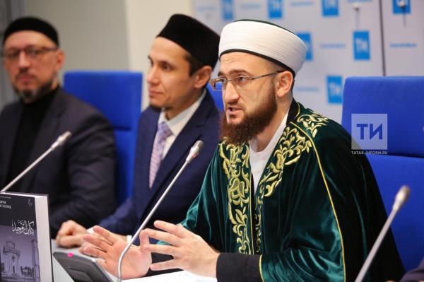 Муфтий рассказал о реализации проекта мусульманского ТВ.
