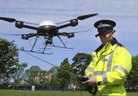 Во Франции дорожная полиция использует дроны