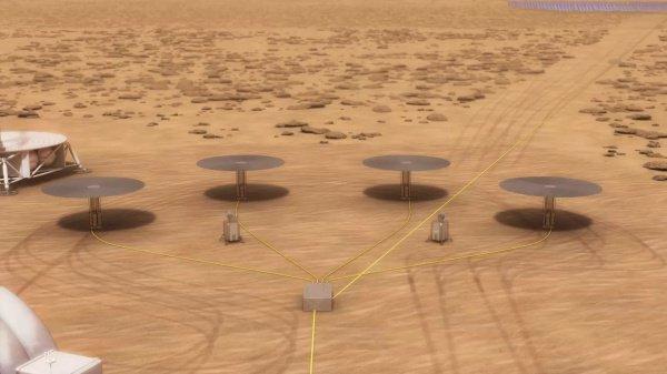 NASA показало ядерный реактор для работы наМарсе