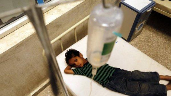 В Йемене продолжается эпидемия холеры.