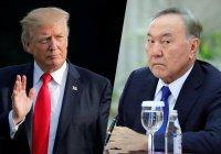 Назарбаев объявил о предстоящей встрече с Трампом
