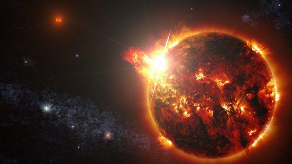 Учёные обнаружили самый мощнейший взрыв вгалактике