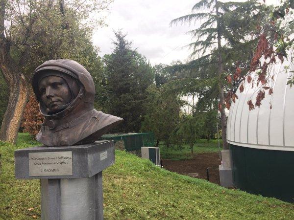 Названный вчесть Юрия Гагарина планетарий открылся вНеаполе