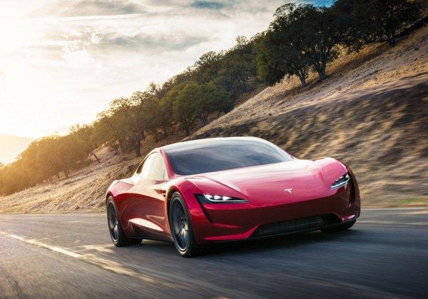 Tesla показала сверхбыстрый спорткар: 1,9 секунды до96 км/ч