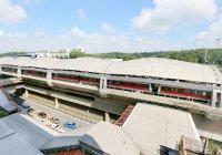 В Сингапуре в поезд метро ударила молния