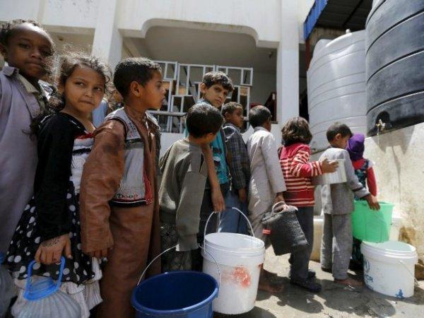 В Йемене - катастрофическая нехватка питьевой воды.
