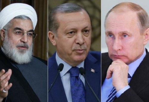 Лидеры трех государств обсудят дальнейшее урегулирование в Сирии.