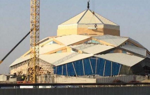 В Астане готовятся к открытию футуристической мечети (Фото)