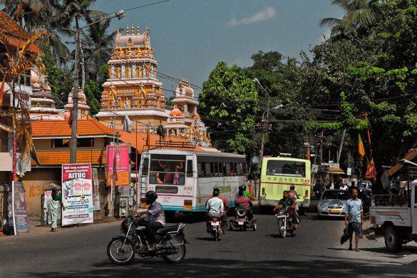 Индийский город Тируванантапурам.