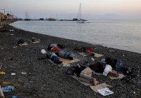 Десять тысяч беженцев в Греции - на грани гибели