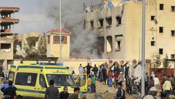 Вегипетской мечети произошел теракт
