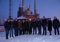 Делегация Татарстана осмотрела строящуюся в Нижневартовске мечеть