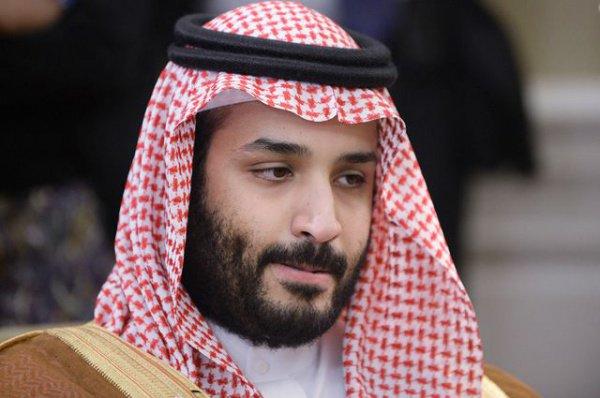 """Ранее принц Мохаммед назвал Верховного лидера Ирана """"новым Гитлером""""."""
