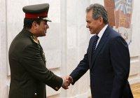 Шойгу обсудил с президентом Египта военно-техническое сотрудничество