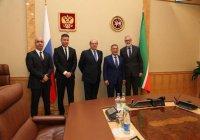 Минниханов обсудил совместные проекты с турецкой компанией