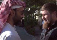 Кадыров встретился с шейхом из ОАЭ