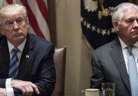СМИ: Трамп собирается отправить Тиллерсона в отставку