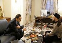 Муфтий Татарстана встретился с генконсулом Турции