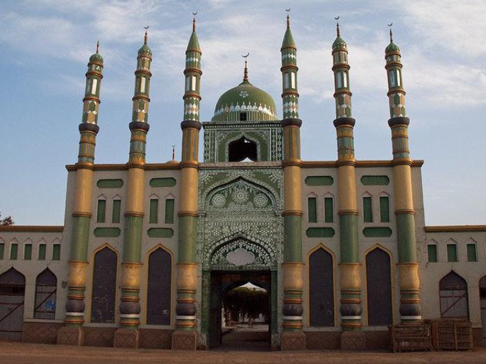 Мечеть Тысячи огней в Ченнаи