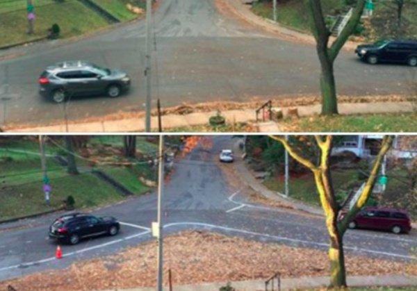На Спрингмаунт авеню и Ригал роуд почти нет тротуаров и отсутствуют стоп-линии