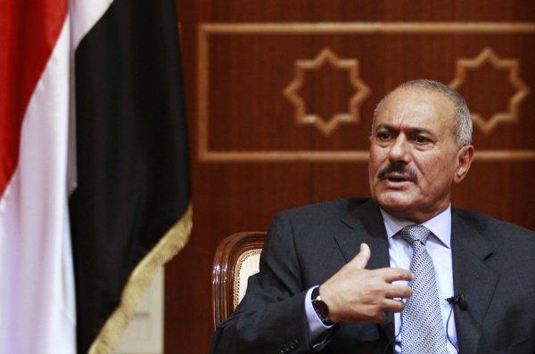 Бывший президент Йемена Али Абдулла Салех