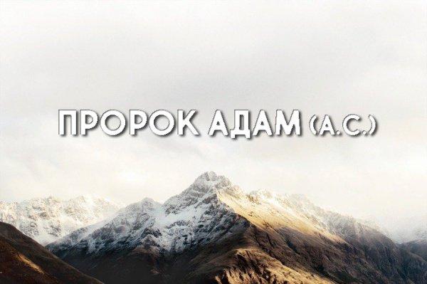17 отличительных свойств пророка Адама (а.с.)