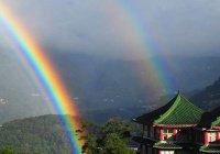 На Тайване радуга висела в небе 9 часов