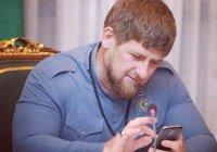 Кадыров: «Ни одно сообщение в Instagram не оставляю без внимания»