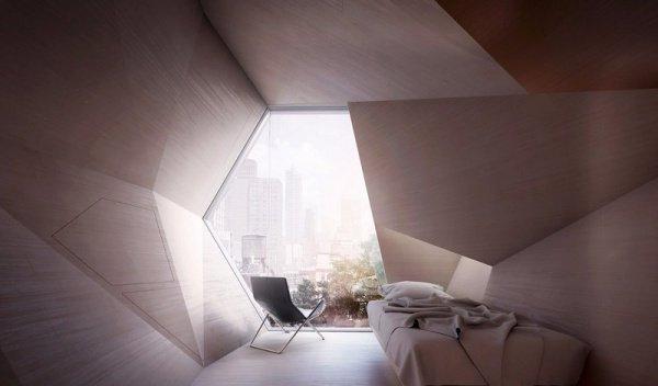 Материалом для своеобразных «сот» станет переработанный поликарбонат, покрытый сверху алюминиевой оболочкой