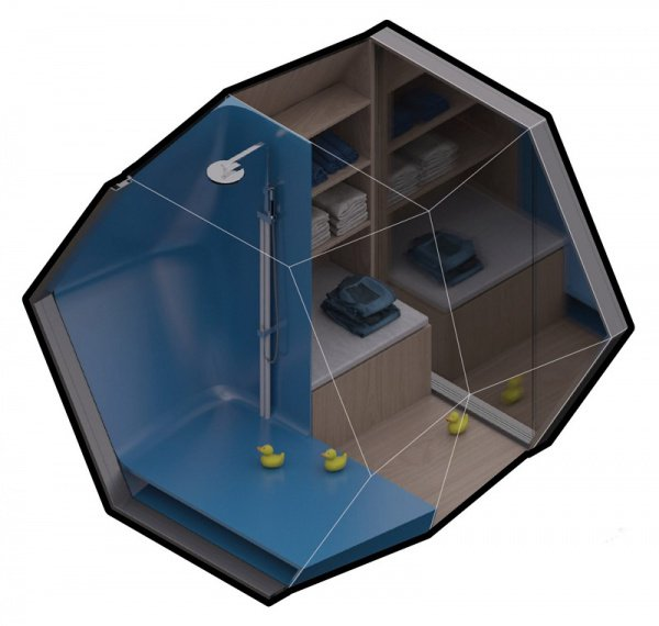 Конструкция довольно мобильна и ее можно пересобрать возле другого дома