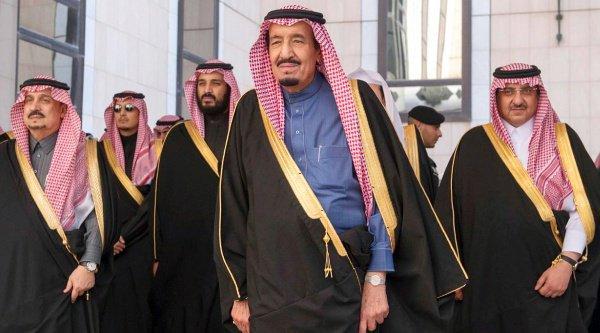 Антикоррупционная кампания была инициирована королем Салманом.