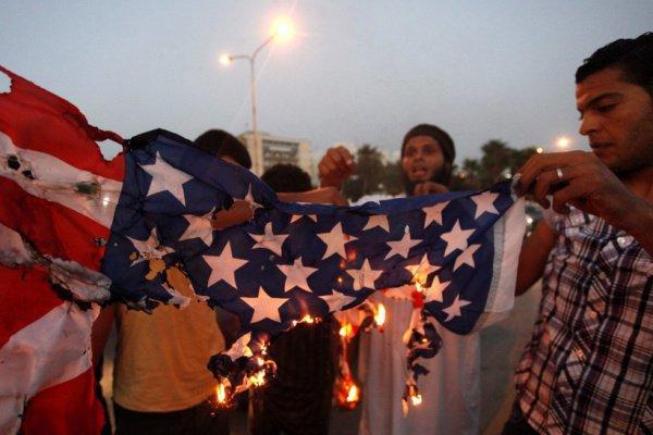 Мусульманский мир протестует против решения Трампа.
