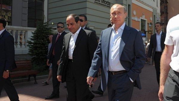 Путин встретится с президентом Египта.