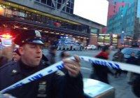 Взрыв в Нью-Йорке признан терактом