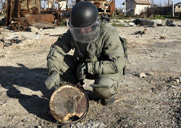 Они обезвредили свыше 44 тыс. взрывоопасных предметов