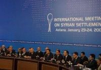 Названа дата 8-го раунда межсирийских переговоров в Астане