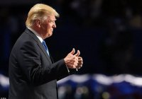 Во Флориде появилась говорящая фигура Трампа (ВИДЕО)