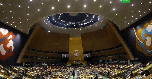 Речь идет об экстренной сессии, в рамках которой Генассамблея может рекомендовать странам-членам ООН прибегнуть к коллективным мерам