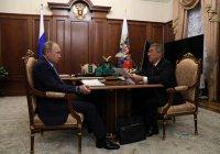 Владимир Путин встретился с Рустамом Миннихановым