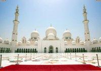 Мечеть шейха Зайда в ОАЭ отмечает юбилей